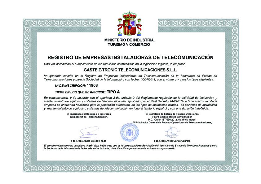 TITULO-RegistroTelecomunicaciones